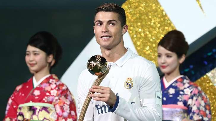 رونالدو يسيطر جوائز العالم للاندية