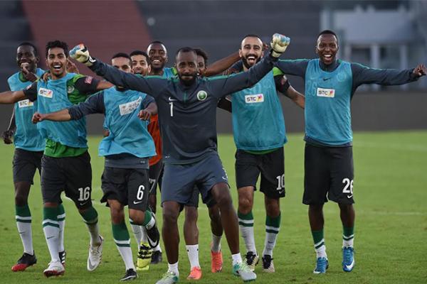 المنتخب السعودي ملاقات المنتخب الغاني