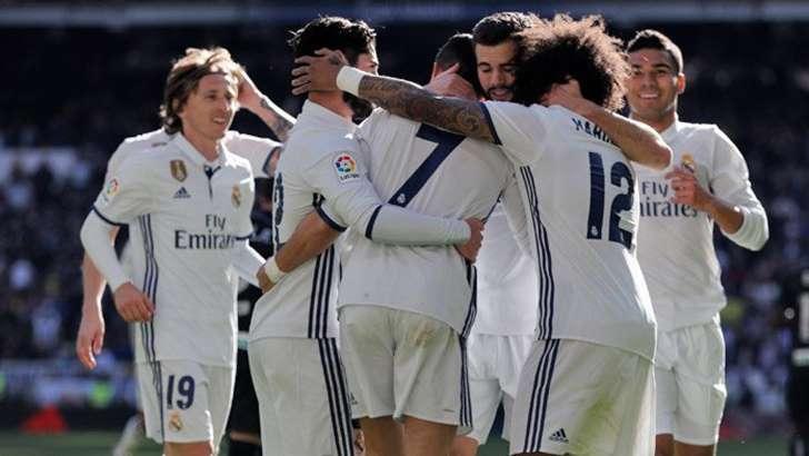 ريال مدريد يعادل رقم تاريخي
