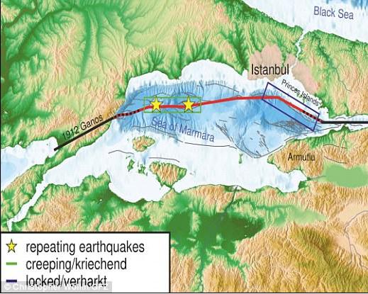 علماء: زلزال مدمر يضرب اسطنبول