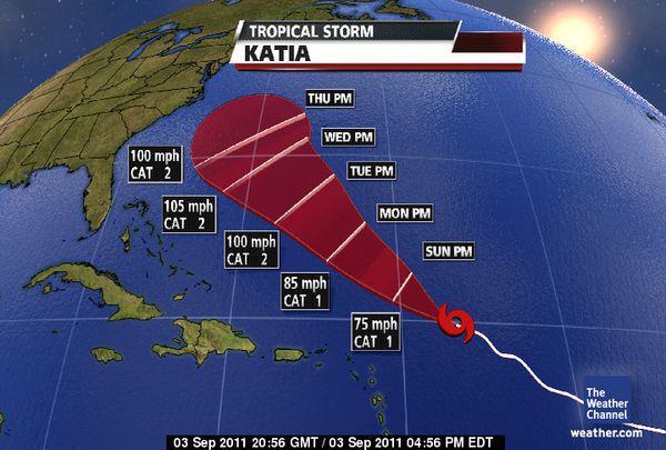 إعصار سيضرب الولايات المتحدة