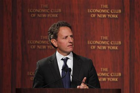 جايتنر: اقتصاد امريكا علامات مشجعة